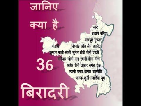 36 biradari ki kahani : Story of 36 Royal Caste #1