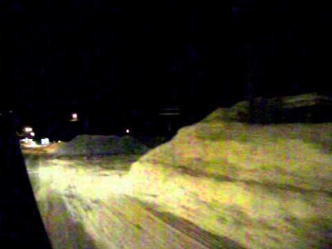 A drive through Rogersville NB February 6th 2011