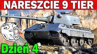 NARESZCIE 9 TIER !!! - Dycha w Tydzień - Dzień 4 - World of Tanks