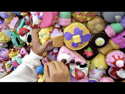 SQUISHY TOYS WALL!! Toys AndMe Family Fun