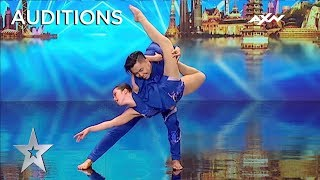 FEEL THE PASSION With Power Duo's Unbelievable Chemistry | AXN Asia's Got Talent 2019