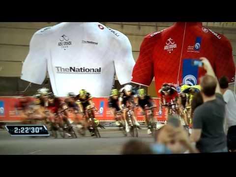 Abu Dhabi Tour 2015 Stage 4 photo finish 4 - Abu Dhabi Sports TV.