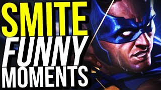 HUNTERS ARE OP! (Smite Funny Moments)