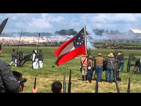 150th GAC Gettysburg Before the Pickett Pettigrew Trimble Assault