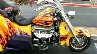 BOSS HOSS  - GM V8 TRIKE - SEMI AUTOMATIC TRANSMISSION