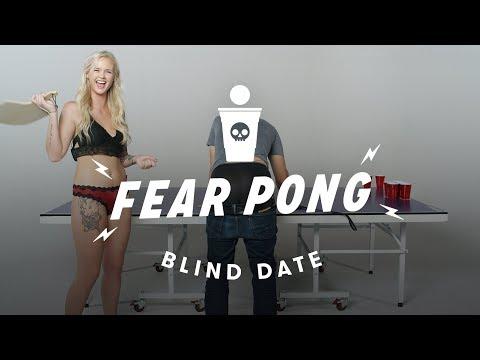 Blind Dates Play Fear Pong  (Peter vs. Ashley) | Cut