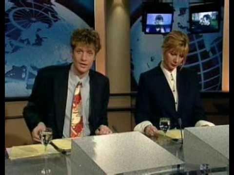 RTL Nieuws leader 1995 - Avondnieuws half 8 | Jeroen Pauw & Loretta Schrijver