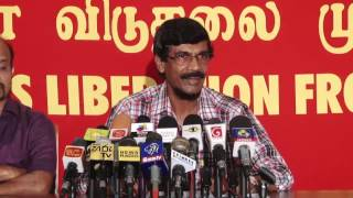 JVP Press Conference  02.03.2015  Tilvin Silva