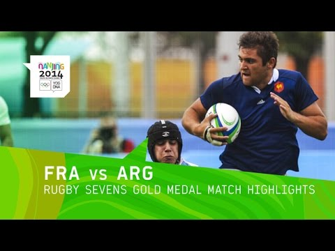France Win Men's Rugby Sevens Gold - Highlights | Nanjing 2014 Youth Olympic Games