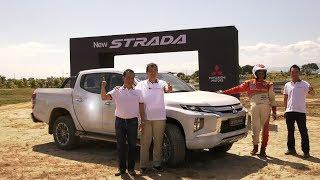 Special Feature: Mitsubishi Strada Launch and Taxi Ride with Rally Champion Hiroshi Masuoka