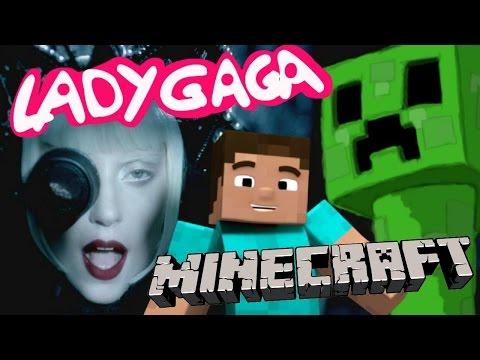 CRAFTEANDO Parodia Musical de Lady Gaga Alejandro y MINECRAFT