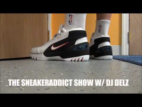 Nike Lebron 1 Zoom Generation Shoe Review + On Feet W/ @DjDelz Dj Delz