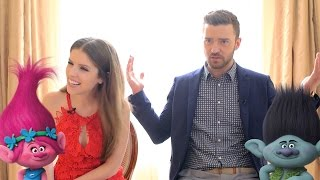 Anna Kendrick & Justin Timberlake Apparently Look Exactly like Their Trolls