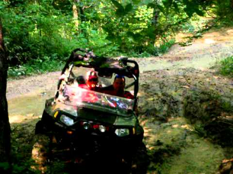 Mud Driving at Trails End Campground