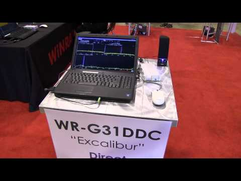 Winradio Excalibur at the 2012 Dayton Hamvention