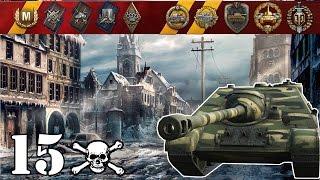 World of Tanks / SU-122-44 .. 15 Kills