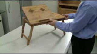 JT Bamboo Reading and Notebook Table