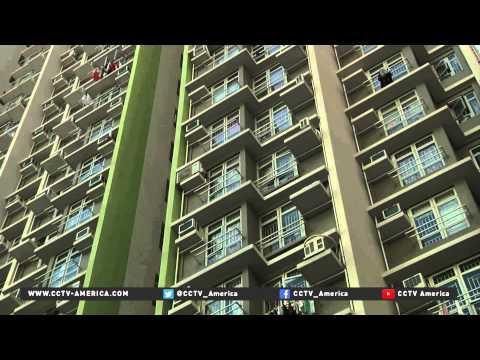 Chief Executive of Hong Kong says he'll alleviate housing shortage