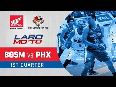 Ginebra vs. Phoenix - Q1 | PBA Commissioner's Cup 2018