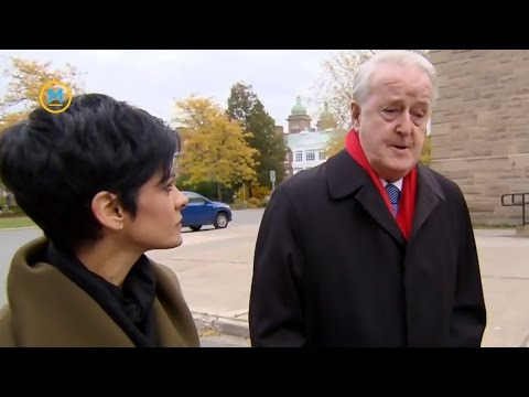 One-on-one with former prime minister Brian Mulroney