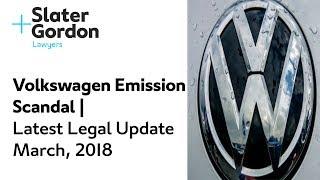 Volkswagen Emission Scandal | Latest Legal Update