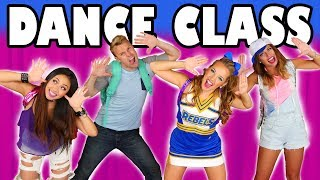 Dance Class: Back to School Pop Music High Music Video Tutorial. Totally TV