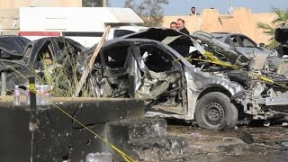 More than 50 dead in bombing at Libya police school