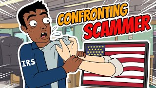 IRS Scam Exposed (EXTENDED) - Ownage Pranks