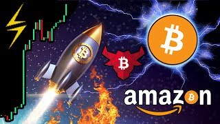 Bitcoin SMASHES Resistance!!! Next Stop $6k?!? 🚀 Amazon Lightning Network Payments!