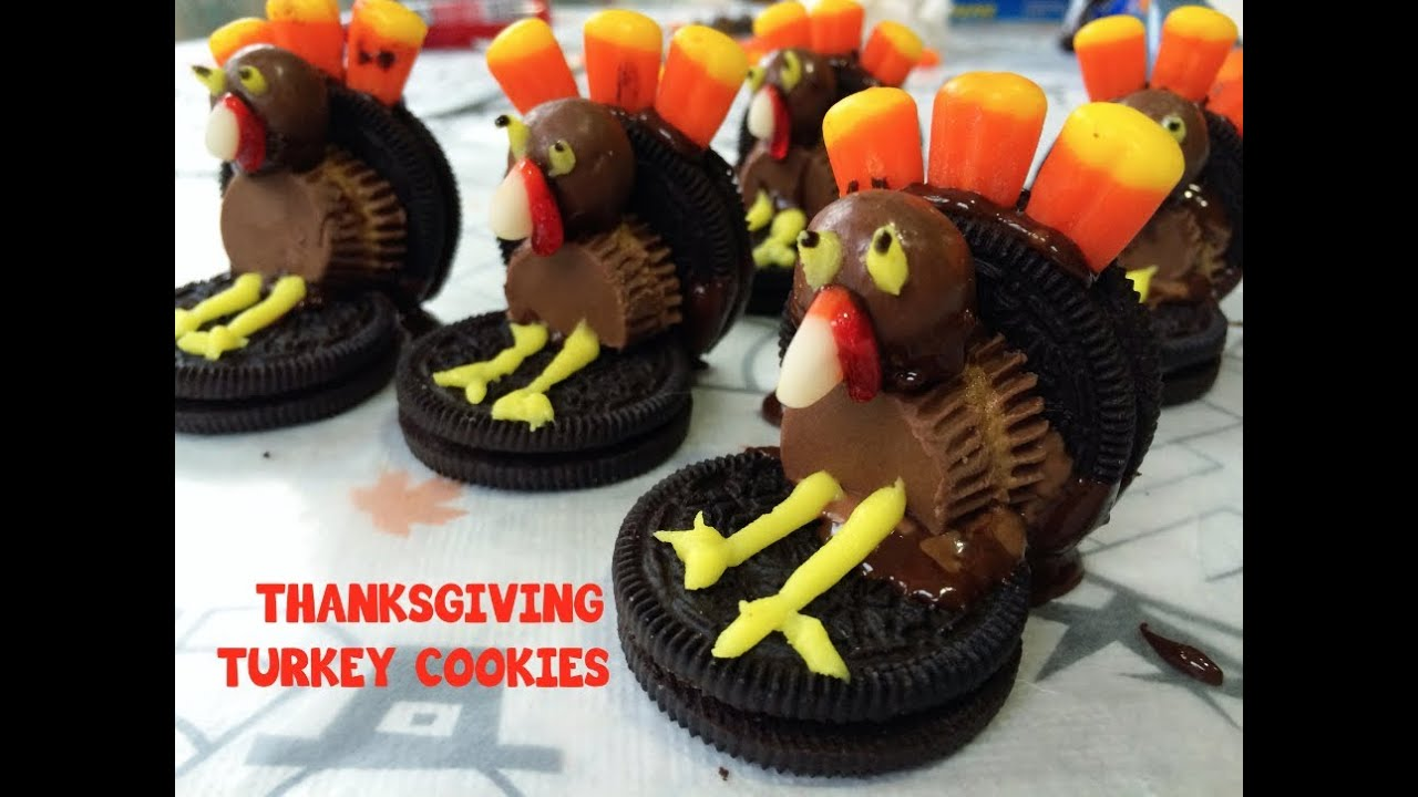 Yummy Diy Turkey Cookies Youtube