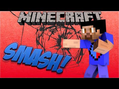 Minecraft SMASH #3 with Vikkstar, Preston & Kenny (Minecraft Super Smash Bros PVP)