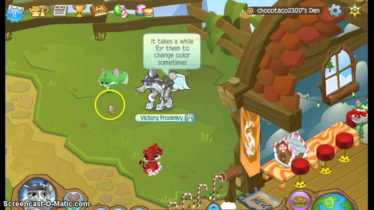 Animal Jam Color Changing