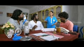 Sketch Ravi meets Y.G. Mahendran in Mental Hospital - 9 Thirudargal Tamil Movie Scene