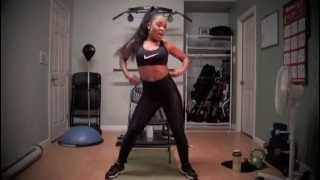Fun and Sexy Chair Dance Workout by Keaira LaShae