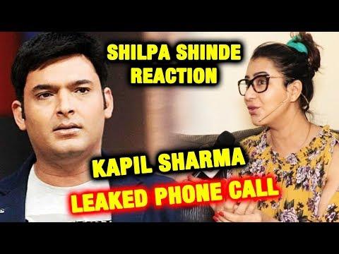 Shilpa Shinde Reaction On Kapil Sharma LEAKED Phone Call | Shilpa Shinde Exposes Media thumbnail