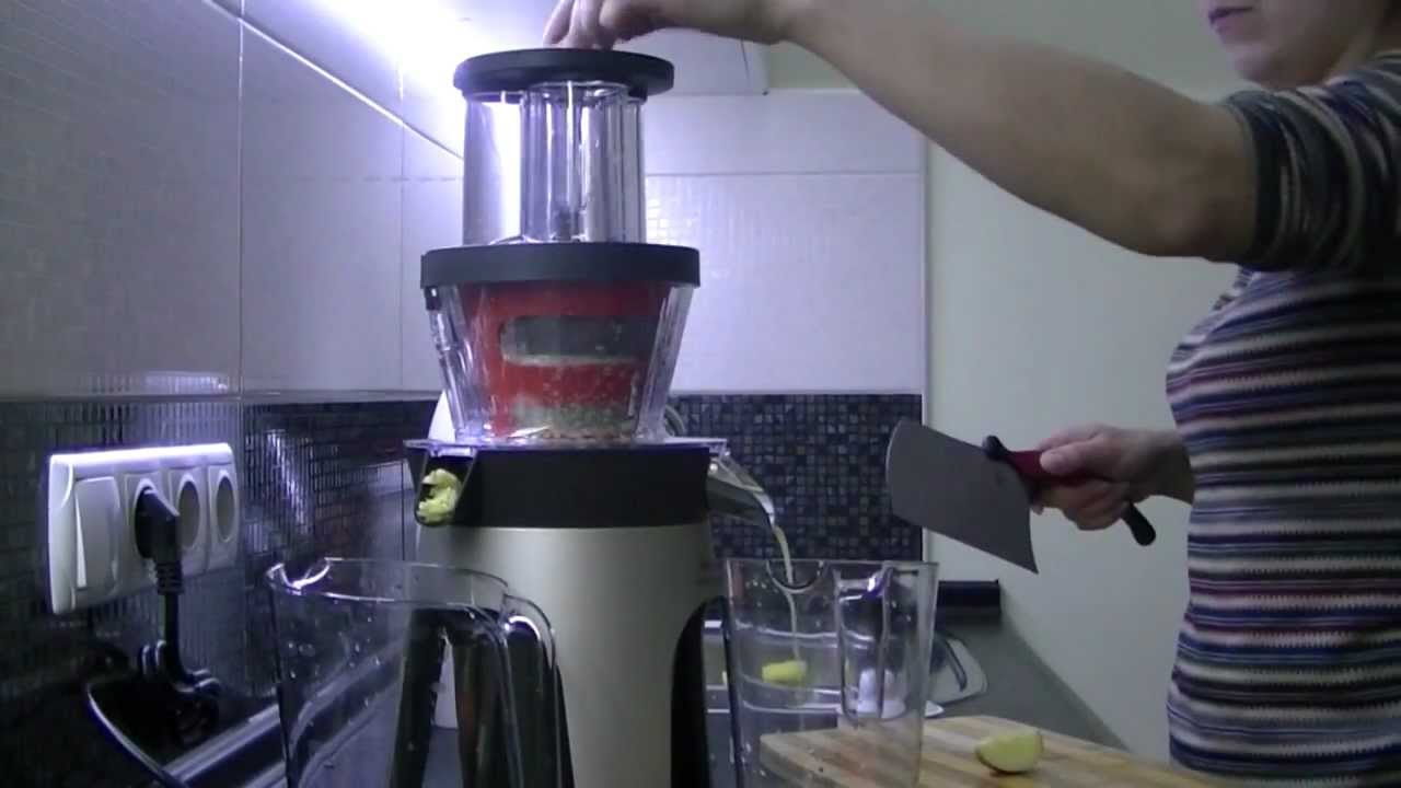 Moulinex Slow Juicer Infiny Press Revolution : Moulinex Infiny Press Revolution - YouTube