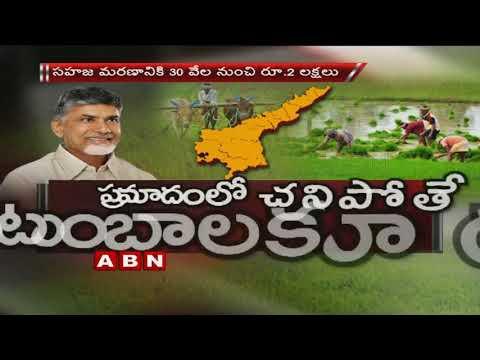 AP CM Chandrababu Naidu To Make an Announcement on Chandranna Bheema Scheme Tomorrow | ABN Telugu