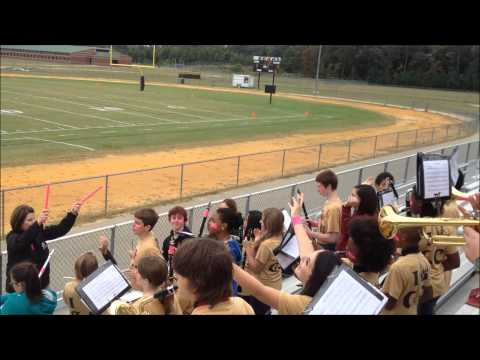 Grays Creek Middle School Pep Band 2013