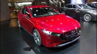 2019 Mazda 3 Skyactiv 2.0 122 MT Safety Black - Exterior and Interior - Automobile Barcelona 2019
