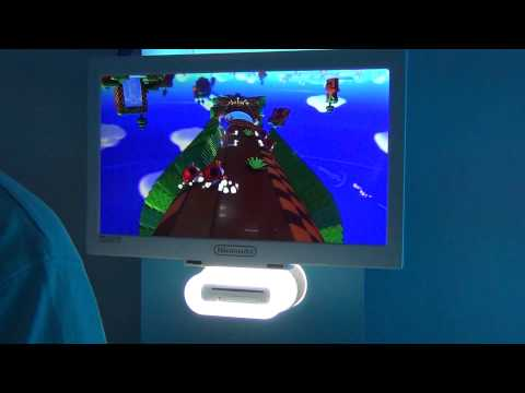 Sonic Lost World - Wii U Demo Gameplay Windy Hill HD