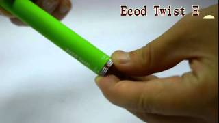 [Evod Twist Ecigarette China Electronic cigarette ecigator Ec...] Video