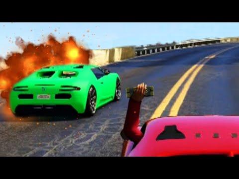 CRAZY EXPLOSIVE REVENGE (GTA 5 Funny Moments)