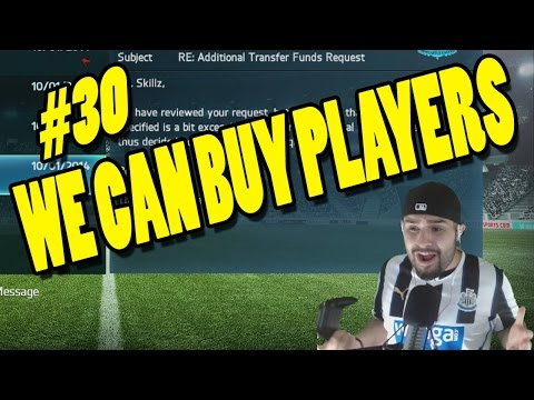 TRANSFER FUNDS REQUESTING!!!! FIFA 14 Career Mode #30