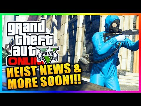GTA 5 Online Heists - Heist News, Intel, Tips To Complete & More Coming Soon! (GTA V)