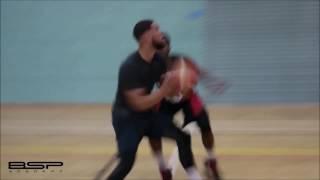 Teddy Okereafor - Professional Basketball workout with Coach Brian Nguru
