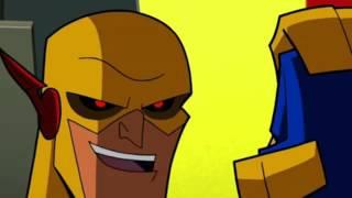 Flash Family & Flash Powered Batman vs Professor Zoom