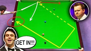 LUCKY SHOTS!!! Snooker MEGA FLUKES Compilation ᴴᴰ
