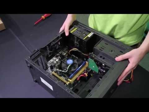 GEFORCE GARAGE - Montaż Niedrogiego Komputera Do Gier