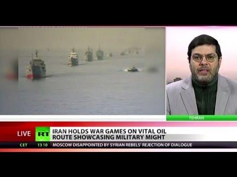 'West lacks invasion power': Iran holds war drills in Strait of Hormuz
