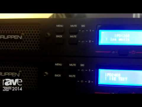ISE 2014: Lab Gruppen Shows the Updated IPD Series | IPD 1200 & IPD 2400